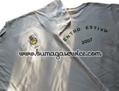 Magliette personalizzate centro estivo vacanze. T-shirt with personal printing about a holiday summer centre for kids.