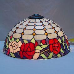 Rose Tiffany Lamp 16S0-118