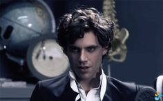 ANIMATED GIF Mika in the video for Popular Song featuring Ariana Grande