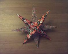 BricArtBrac: DIY: une étoile en origami pour Noël