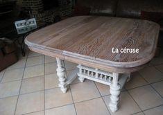 La table Henri II ... cérusée