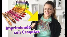 Imprimiendo Playeras con Crayolas 🖍Chuladas Creativas Diy And Crafts, Arts And Crafts, Crayola, Stencils, Make It Yourself, How To Make, Blog, Mothers, Youtube