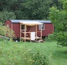 tiny cabins and cute trailers wohlwagen the ultimate 300sqft tiny house for 30k cabins n. Black Bedroom Furniture Sets. Home Design Ideas