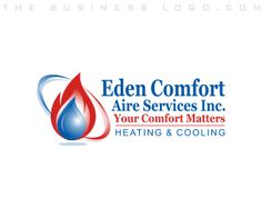 Aire Services Heating & Air Conditioning, Cooling, Refrigeration, Plumbing, HVAC Logos