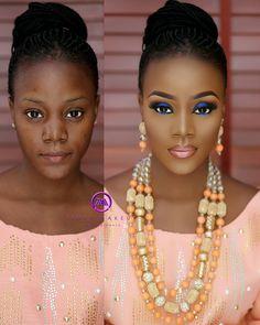 Make up Tutorial Make Up Looks, Black Girl Makeup, Girls Makeup, Dark Skin Makeup, Hair Makeup, Makeup Pics, Makeup Ideas, Makeup Light, Makeup Tutorials