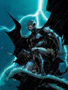 Jim Lee's Batman Cover for the Comic-Con 2014 Souvenir Book. - Imgur