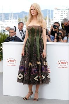 The best red carpet looks from Cannes 2017: Nicole Kidman (Slide 1)