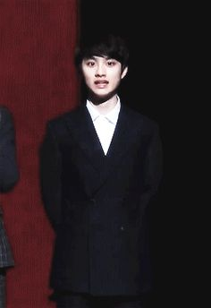 EXO, D.O i think Kyungsoo is taking classes from Luhan on how to make creepy faces...