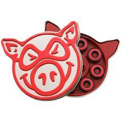 Pig Red Bearings - ABEC 5