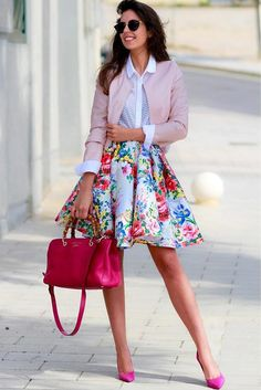 Girly spring outfits have this unbelievably romantic vibe that you can feel the moment you put one of those on. Click to start browsing the gallery!