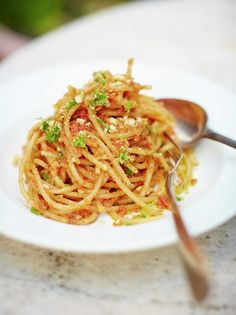Spaghetti Atterrati | Pasta Recipes | Jamie Oliver