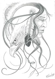 Native American Dream Catcher Drawings | Native American Pencil.