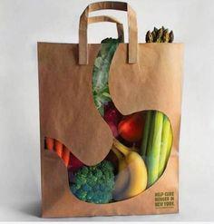 A good dose of creativity with these original packaging which says much about the brand. Una buena dosis de creatividad con estos originales empaques que dicen mucho de la marca. Clever Packaging, Brand Packaging, Packaging Design, Product Packaging, Packaging Ideas, Fruit Packaging, Vegetable Packaging, Organic Packaging, Custom Packaging