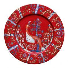 Iittala – Taika Teller flach Ø 22 cm, rot – Tableware Design 2020 Design Bestseller, Magic S, Owl Patterns, Plate Design, Marimekko, Salad Plates, Simple Designs, Pattern Design, Decorative Plates