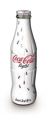 "Limited Edition ""Spanish Designers Series"" Coca Cola aluminum bottle by David Delfin"
