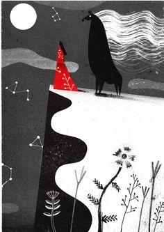 Illustration / carnetimaginaire:Philip Giordano, Oshirasama (Picture book — Designspiration