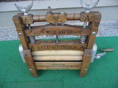Velo Wringer Waschmaschine Matty Rotterdam um 1900