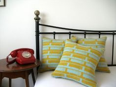 Sideboard Lambswool Cushion - Piccalilli