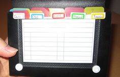 Good system for memorizing scriptures with your kids---and helping them remember the ones they've already memorized!