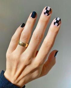 Elegant Nail Designs, New Nail Designs, Elegant Nails, Stylish Nails, Cute Nails, Pretty Nails, Milky Nails, Mens Nails, Minimalist Nails
