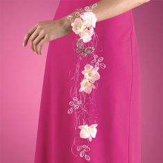 I think I like the idea of a corsage for my bridemaids. I think its cute, something different.