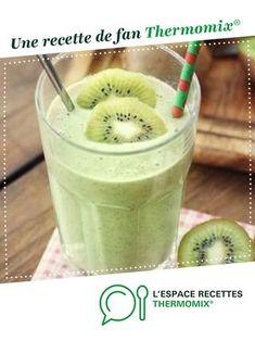 smoothie kiwi banane par celine49112. Une recette de fan à retrouver dans la catégorie Boissons sur www.espace-recettes.fr, de Thermomix®.