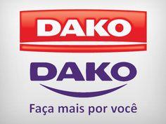 Logotipos antigo e novo da Dako