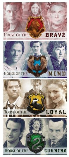 Some combination of Harry Potter, Doctor Who, Sherlock, and Supernatural.