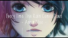 Anna Blue - Every Time The Rain Comes Down (Official Music Video) Anna Blue, Gothic Anime, Gothic Rock, Music Wallpaper, Girl Gifs, Death Metal, My Favorite Music, Me Me Me Anime, Girl Pictures