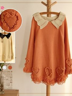 Samantha Sweater : $42 #asianicandy #morigirl
