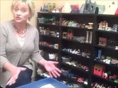Video Tour of Pam Dyson's Sand Tray Therapy Room.
