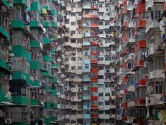 Photographer Michael Wolf captures the overwhelming density of Hong Kong in this series of photos.