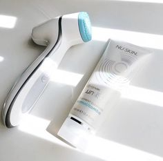 Experience brighter, softer, smoother skin and an energizing facial massage. Simply spend two minutes twice a day to enjoy healthier, youthful looking skin in as little as two weeks. Nu Skin, Skin So Soft, Smooth Skin, Nose Pores, Minimize Pores, How To Exfoliate Skin, Eye Makeup Remover, Facial Cleansing, Skin Care