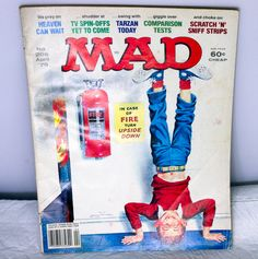 Vintage April, 1979 Issue Of Mad Magazine - Number 206.  Condition (Book/Dust Cover) VG/None