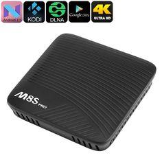 Este produto numa super promocao 4K TV Box Mecool ... Confira aqui! http://alphaimports.com.br/products/4k-tv-box-mecool-m8s-pro-android-7-1-octa-core-2gb-ddr4-ram-google-play-kodi-tv-airplay-miracast-dlna?utm_campaign=social_autopilot&utm_source=pin&utm_medium=pin