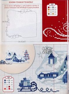 Christmas cottages part 1 free cross stitch pattern Cross Stitch House, Xmas Cross Stitch, Cross Stitch Pillow, Cross Stitch Cards, Cross Stitch Borders, Cross Stitch Designs, Cross Stitching, Cross Stitch Embroidery, Cross Stitch Patterns