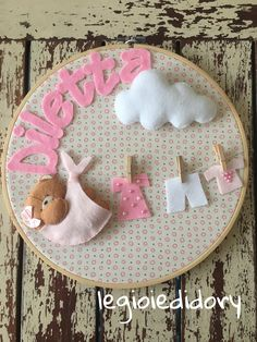 Border Embroidery Designs, Hand Embroidery, Baby Crafts, Felt Crafts, Gaia, Baby Pictures, Projects To Try, Baby Shower, Fancy