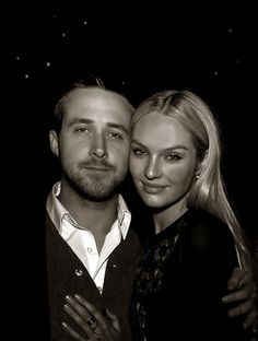 Ryan Gosling and Candice Swanepoel.