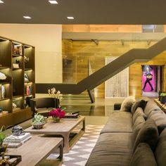 Os arquitetos Ezequiel Farca e Cristina Grappin idealizaram este apartamento na Cidade do México.  Confira este grandioso projeto no MiMostra!