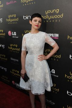 It girl Ginnifer Goodwin strikes a pose at the 14th Annual Young Hollywood Awards sponsored by LG