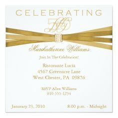50th Birthday Party Invitations Elegant 50th Birthday Silver Pink