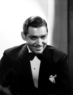 Clarke Gable.. George Hurrell... my favorite of my vintage prints.