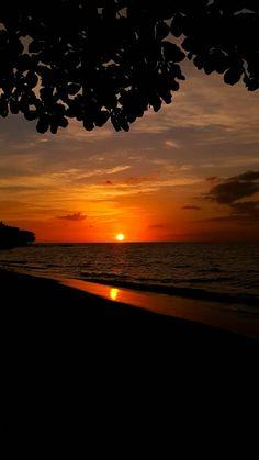Bello atardecer en la Isla del encanto Puerto Rico