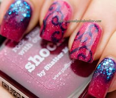 My contribution to piCture pOlish blog fest 2013 :) Polishes being used: shocked, attitude and splash