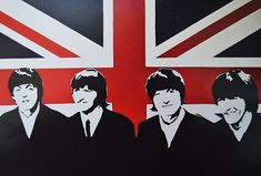 union jack the beatles art