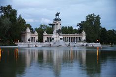 Park in Madrid, Spain - Monument to Alfonso XII