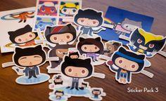 github : Octodex Sticker Packs - $5