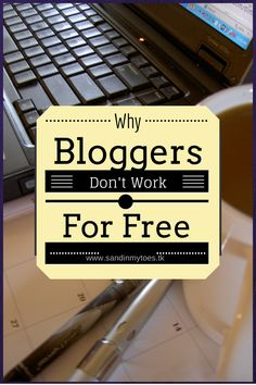 Blogging is hard work, and that is why brands should value bloggers and compensate them for the role they play in creating quality content and exposure for them. #blogging