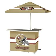 San Francisco 49ers Portable Bar What The What