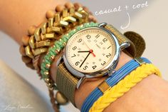 what an adorable arm party!